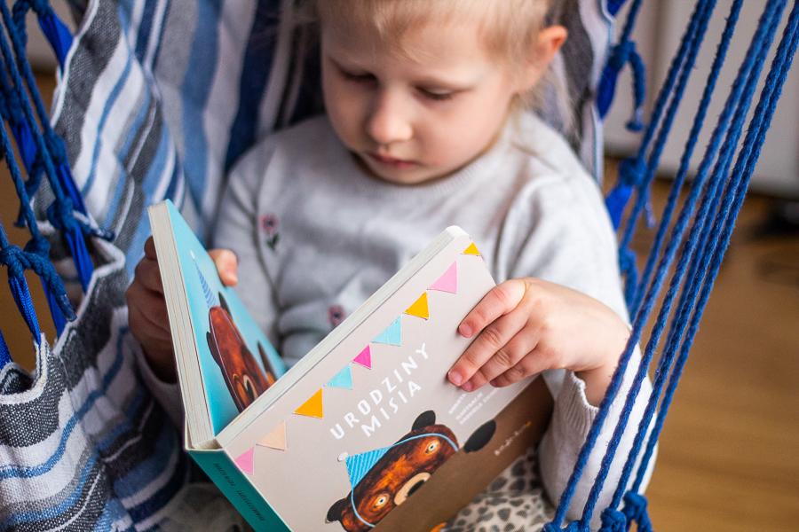 Książka dla dzieci o misiu