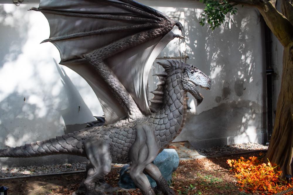 wystawa Game of Dragons