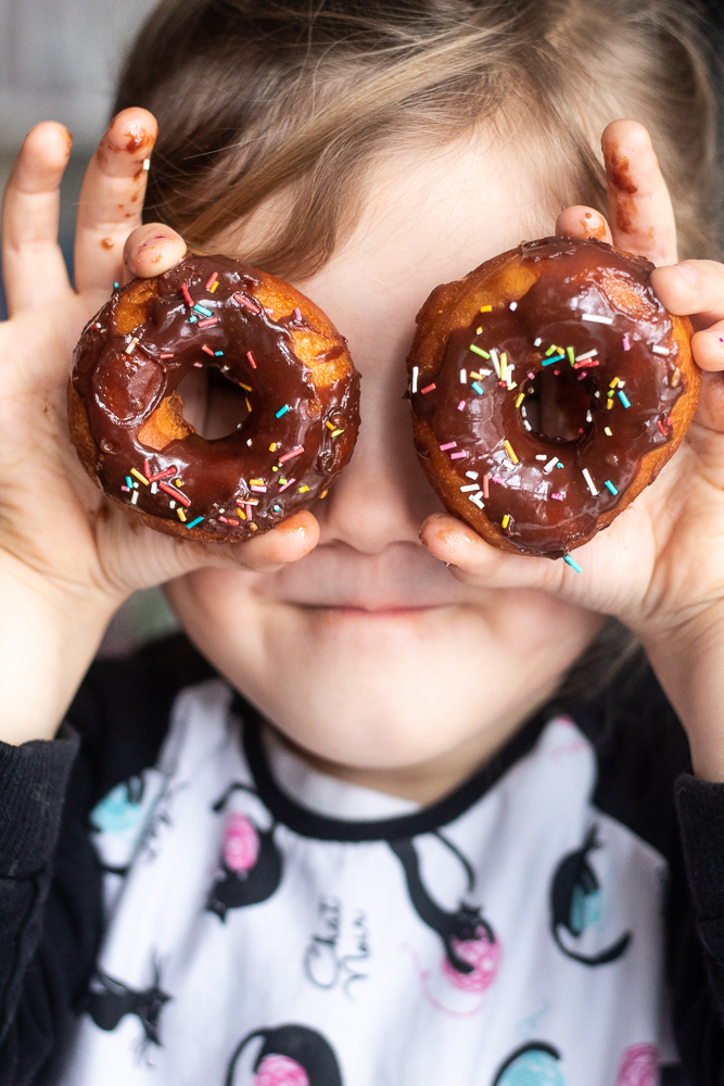 Amerykańskie pączki donuts