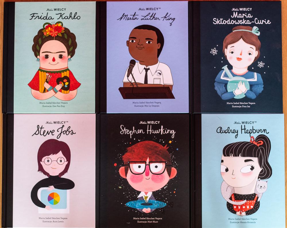 Mali WIELCY seria książek