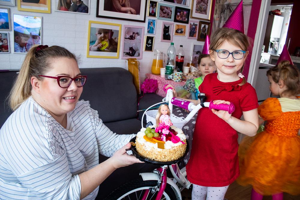 urodziny w stylu Barbie