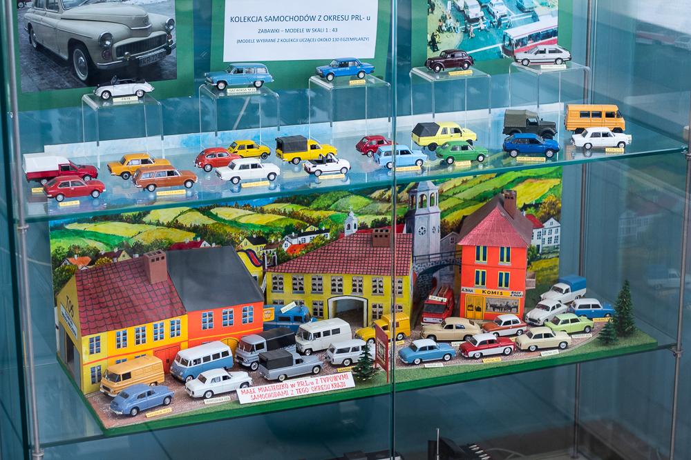 kolekcja samochodów z PRL